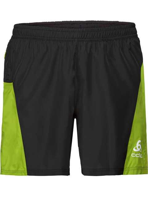 Odlo Omnius - Pantalones cortos running Hombre - with Inner Brief negro